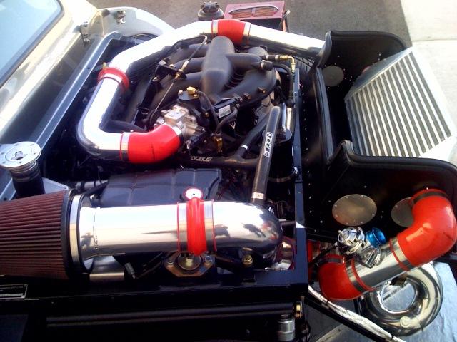 Sports Car Engine Parts : Turbohoses airram velocity stacks stack air